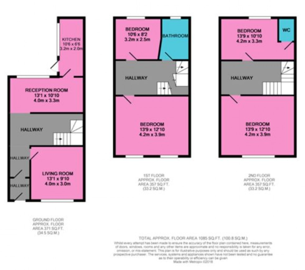 Floorplan for Durham Place